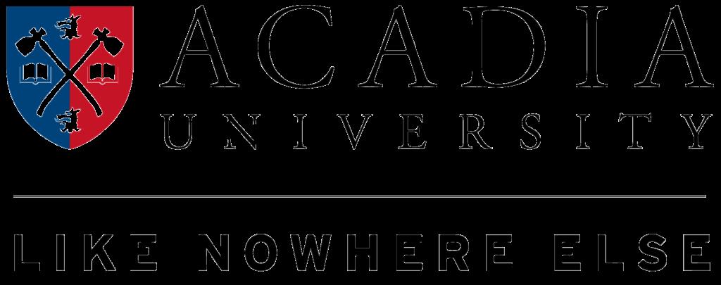 Acadia Logo Official Tagline